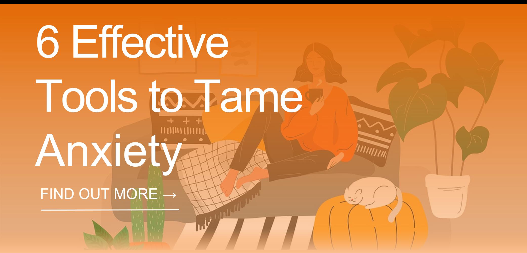 Tame Anxiety CTA