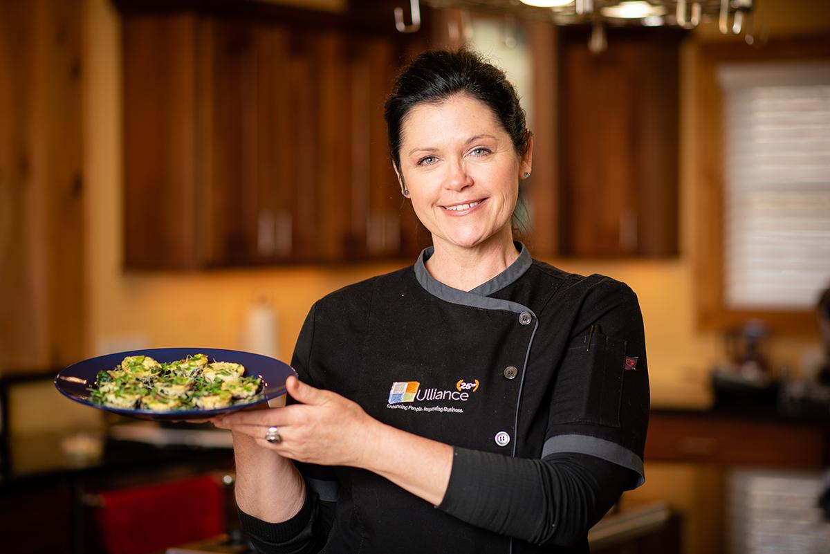 Chef Nicole Frittatas